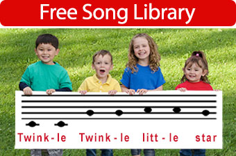 Free lyrics and mp3 downloads for nursery rhymes and children's